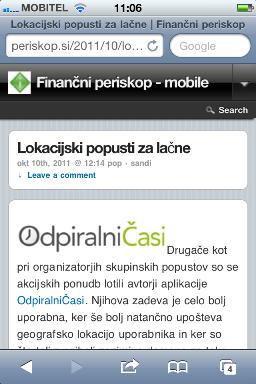 Mobilno - članek